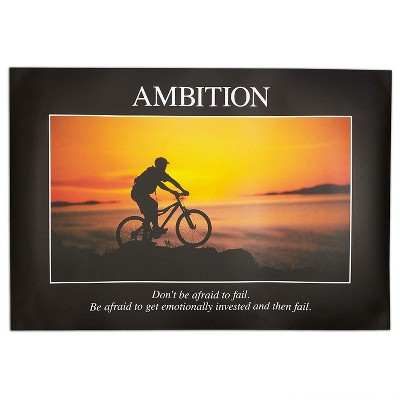 20 Packs Demotivational Posters for Office Home Dorm Apartment Wall Decoration, Funny Motivational Poster for Friends Gifts, 13 x 19 inches