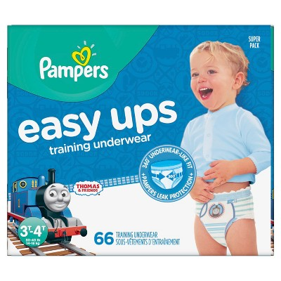 Pampers Easy Up Thomas & Friends Training Pants 3T/4T (66ct)- Boys