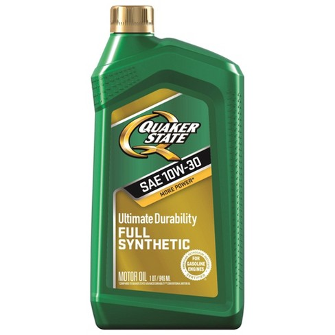 10W30 Synthetic Engine Oil - Quaker State - image 1 of 1
