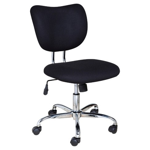 OneSpace 60-2018 Mid-Back Black Mesh Task Chair, Chrome Base - image 1 of 4