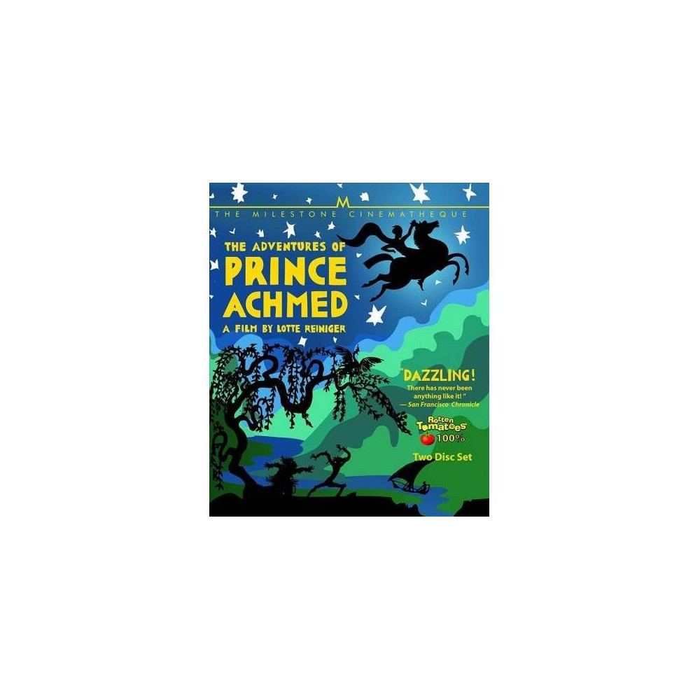 Adventures Of Prince Achmed (Blu-ray)