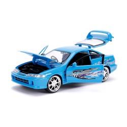 Jada Toys Fast & Furious 1995 Acura Integra Die-Cast Vehicle 1:24 Scale Blue