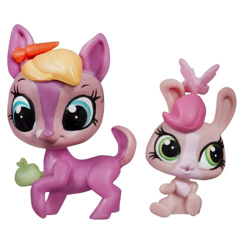 Littlest Pet Shop Pet Pawsabilities Fay Woods & Curtsy Cotton - image 1 of 2