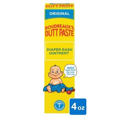 Boudreaux's Butt Paste Baby Diaper Rash Cream Original Strength - 4oz