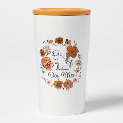 10oz Stoneware Dog Mom Tumbler with Lid - Opalhouse™