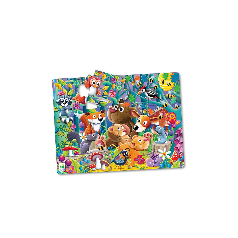 The Learning Journey My First Big Floor Puzzle, 12pc - Woodland Friends