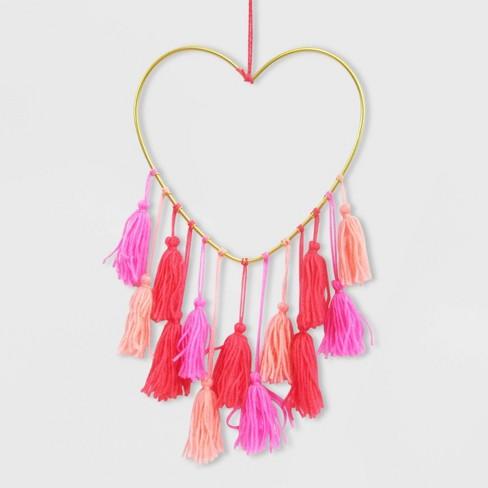Metal Tassel Valentine's Wall Hanging - Spritz™ - image 1 of 1