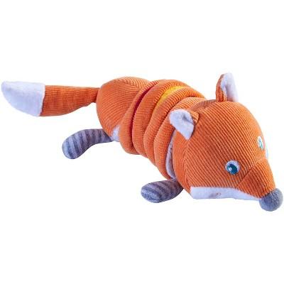 HABA Fox Foxy Multi-Sensory Corduroy Plush Baby Toy