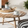 Woven Circular Serve Tray with Handles - Hearth & Hand™ with Magnolia - image 2 of 4
