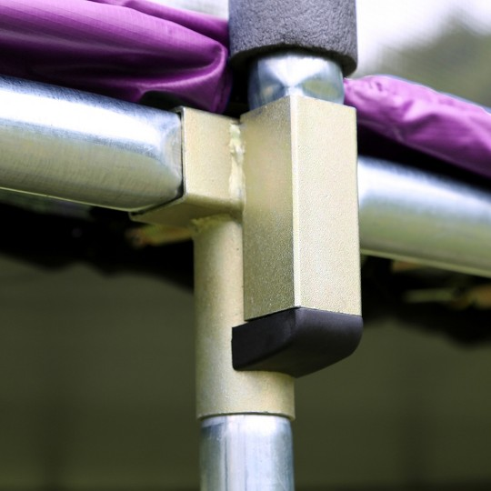 Skywalker Trampolines 17' Oval Trampoline with Enclosure - Purple, Adult Unisex image number null