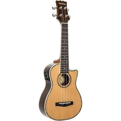 Mitchell MU70CE Cutaway Acoustic-Electric Concert Ukulele Natural