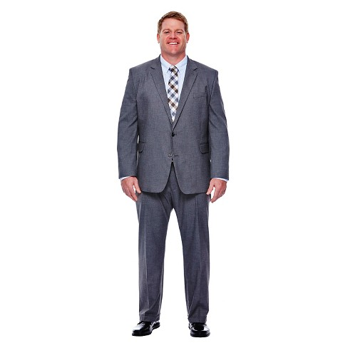 Haggar H26 - Men's Big & Tall Classic Fit Stretch Suit Jacket - image 1 of 2
