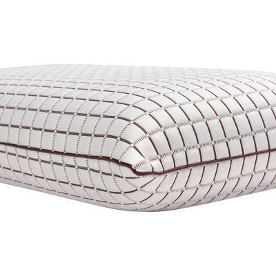 King Coconut Infused Ventilated Foam Pillow White - Classic Brands