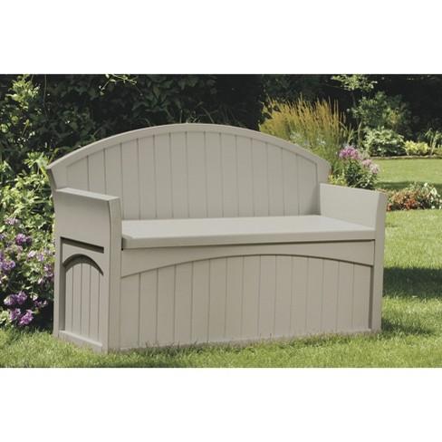 View Photos Play Suncast Patio Storage Bench