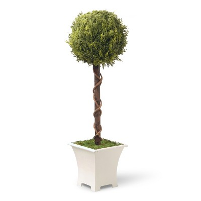 "Artificial Single Ball Topiary Tree 30"" - National Tree Company"