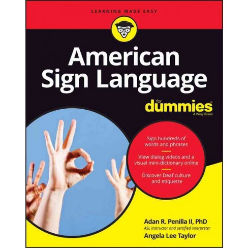 learning american sign language book pdf