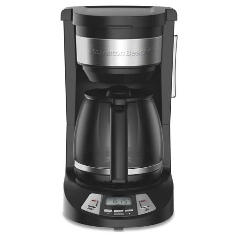 Hamilton Beach 12 Cup Programmable Coffee Maker Black 46290 Target
