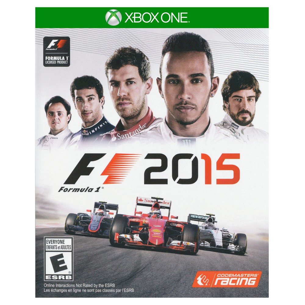 F1 2015 Pre-Owned Xbox One Try your hand at racing with the F1 2016 Pre-Owned (Xbox One) - Namco. The game works for Xbox One consoles. The pre-owned video game is in like-new condition and is family-friendly for all ages.