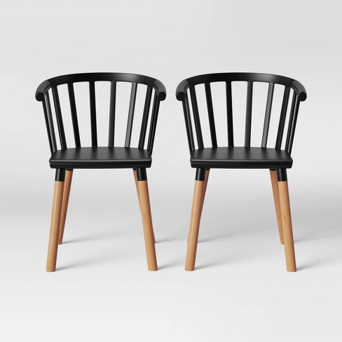 Set of 2 Balboa Barrel Back Dining Chair - Project 62™ - image 1 of 4