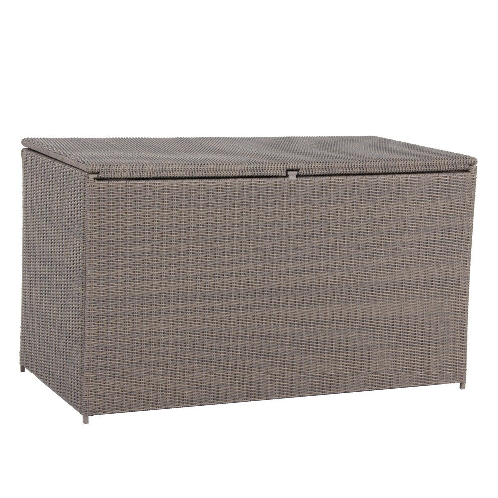 Webster Wicker Storage Box - Royal Garden, Brown