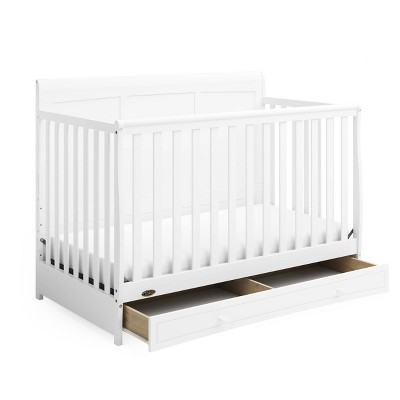 Graco Asheville 4-in-1 Convertible Crib with Drawer