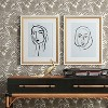 """16""""x20"""" Line Drawing Wall Print - Opalhouse™ - image 2 of 4"""