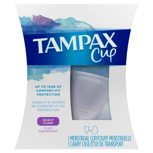Tampax Menstrual Cup - Heavy Flow - image 1 of 6