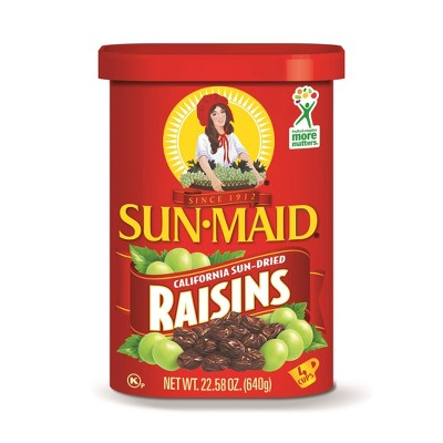 Dried Fruit & Raisins: Sun-Maid Raisins