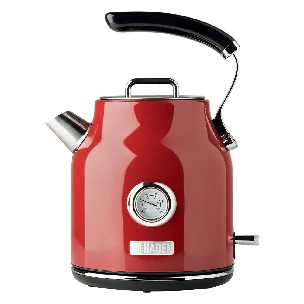 Image of Haden Dorset 1.7L Stainless Steel Electric Kettle - Red