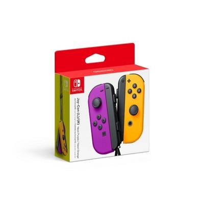 Nintendo Switch Joy-Con L/R - Neon Purple/Neon Orange