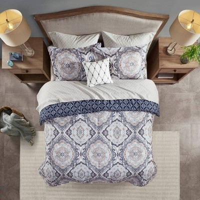 Gordy Reversible Complete bedding set Navy