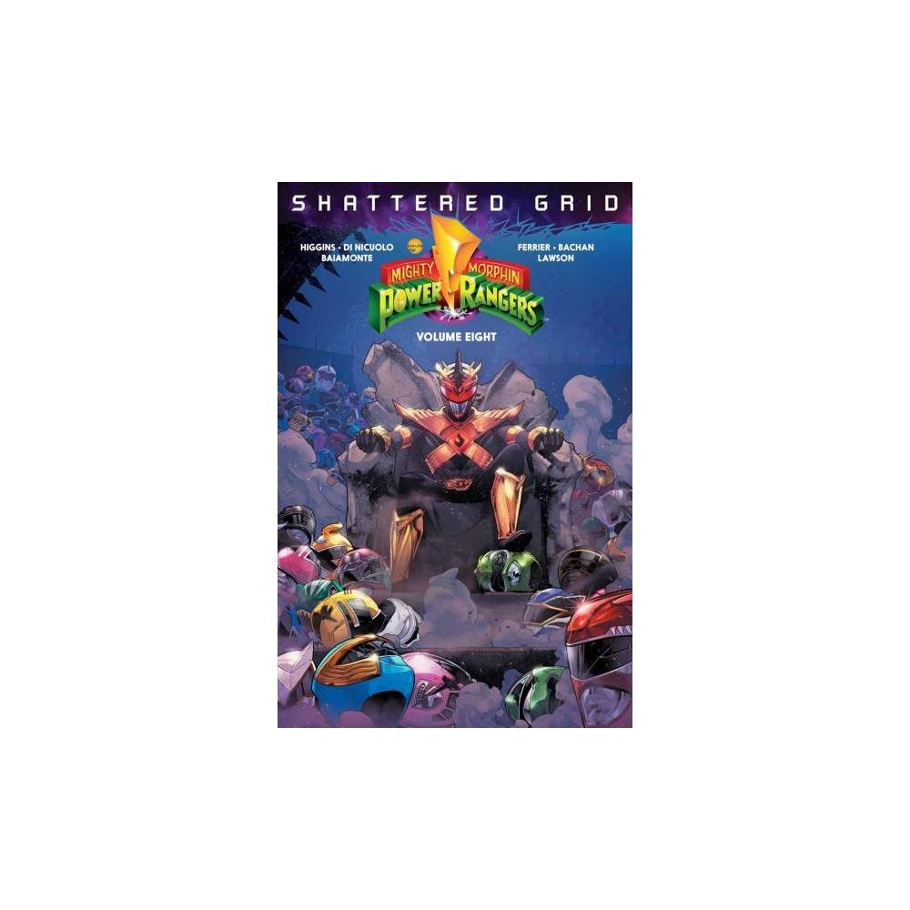 Mighty Morphin Power Rangers 8 - (Mighty Morphin Power Rangers) by Kyle Higgins (Paperback)