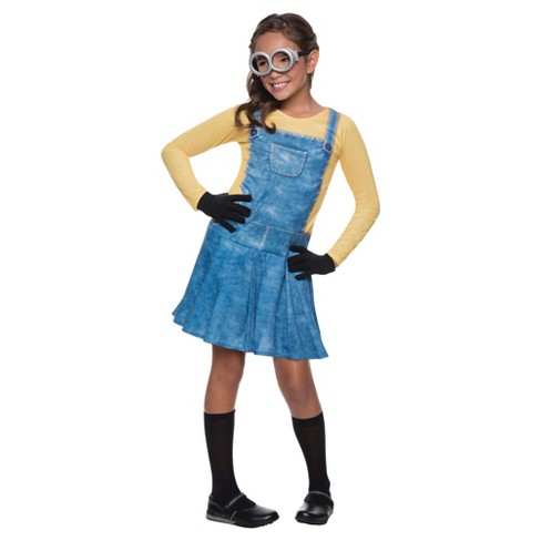 Minions Movie: Minion Girl Costume - image 1 of 1