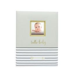 Pearhead Hello Baby, Baby Memory Book - Green