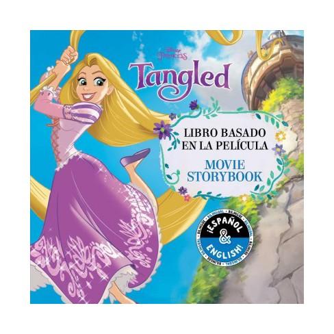 Disney Tangled: Movie Storybook / Libro Basado En La Película (English-Spanish) - (Disney Bilingual) (Paperback) - image 1 of 1