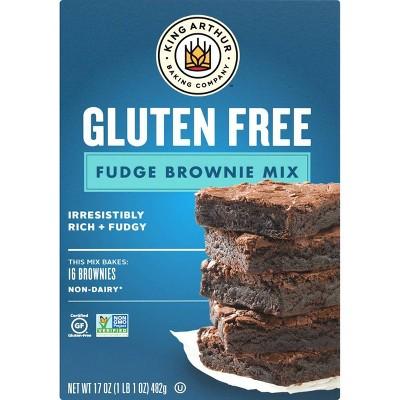 King Arthur Gluten Free Fudge Brownie Mix - 17oz