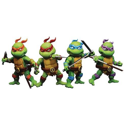 Herocross Company Limited Teenage Mutant Ninja Turtles 3 Inch Hero Cross Die-Cast Figures | Set of 4 - image 1 of 3