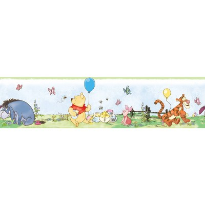 Disney Winnie the Pooh Toddler Peel and Stick Wallpaper Border - RoomMates