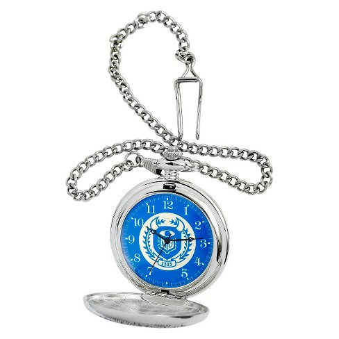 Men's Disney® Monsters Pocket Watch - Silver - image 1 of 2