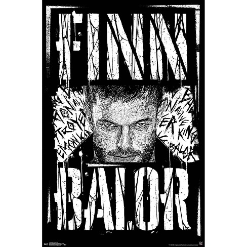 "34""x23"" WWE Finn Balor Unframed Wall Poster Print - Trends International - image 1 of 2"