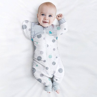 Love To Dream Swaddle UP Transition Suit Lite - 0.2 TOG White
