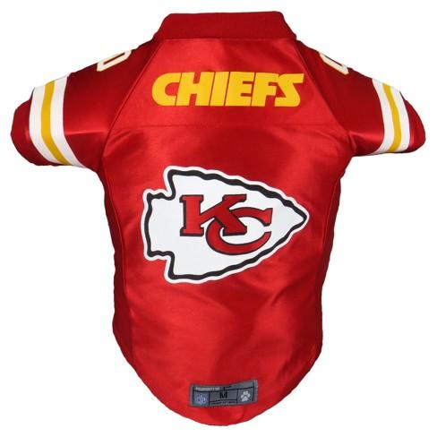 Kansas City Chiefs Little Earth Pet Premium Football Jersey - Red S   Target d012d44b9