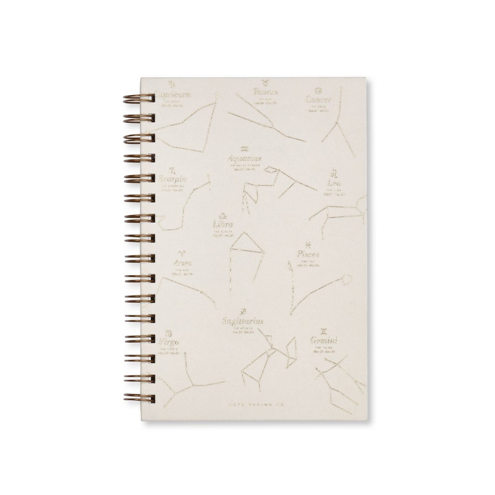 "Image of ""1 Subject College Ruled Zodiac Spiral Notebook 5.75""""x 8.5"""" White - West Emory"""