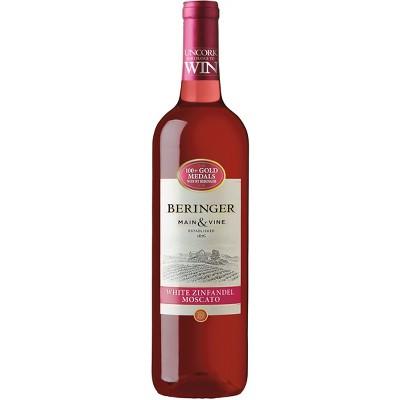Beringer® White Zinfandel Moscato - 750mL Bottle