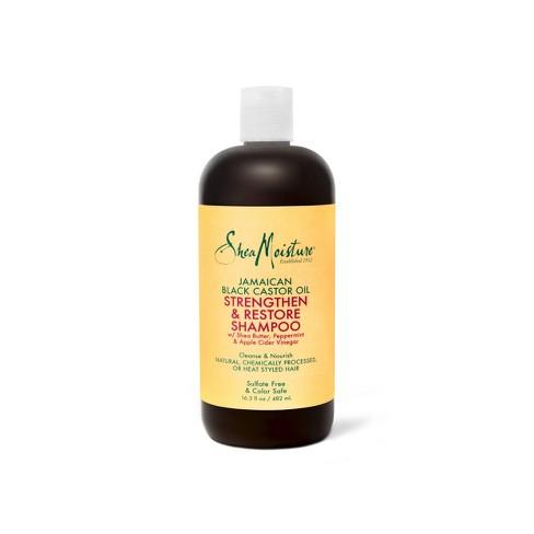 Sheamoisture Jamaican Black Castor Oil Shampoo 16 Fl Oz Target