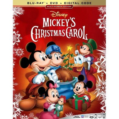 Mickey's Christmas Carol (Blu-ray)(2020)