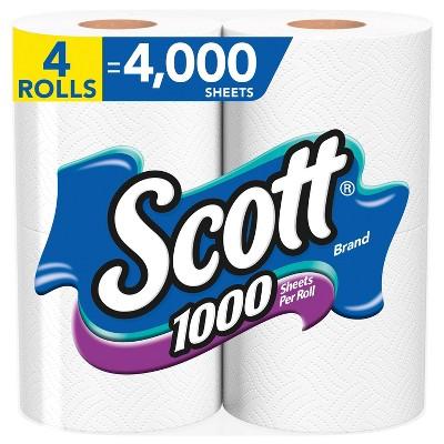 Scott 1000 Sheets Per Roll Toilet Paper