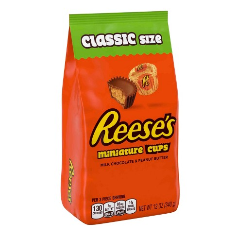 Reese's Miniature Peanut Butter Cups Classic Bag - 12oz - image 1 of 8