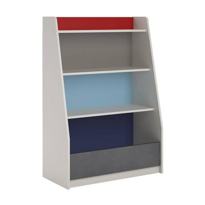 Kids Journey Storage Bookcase White - Room & Joy
