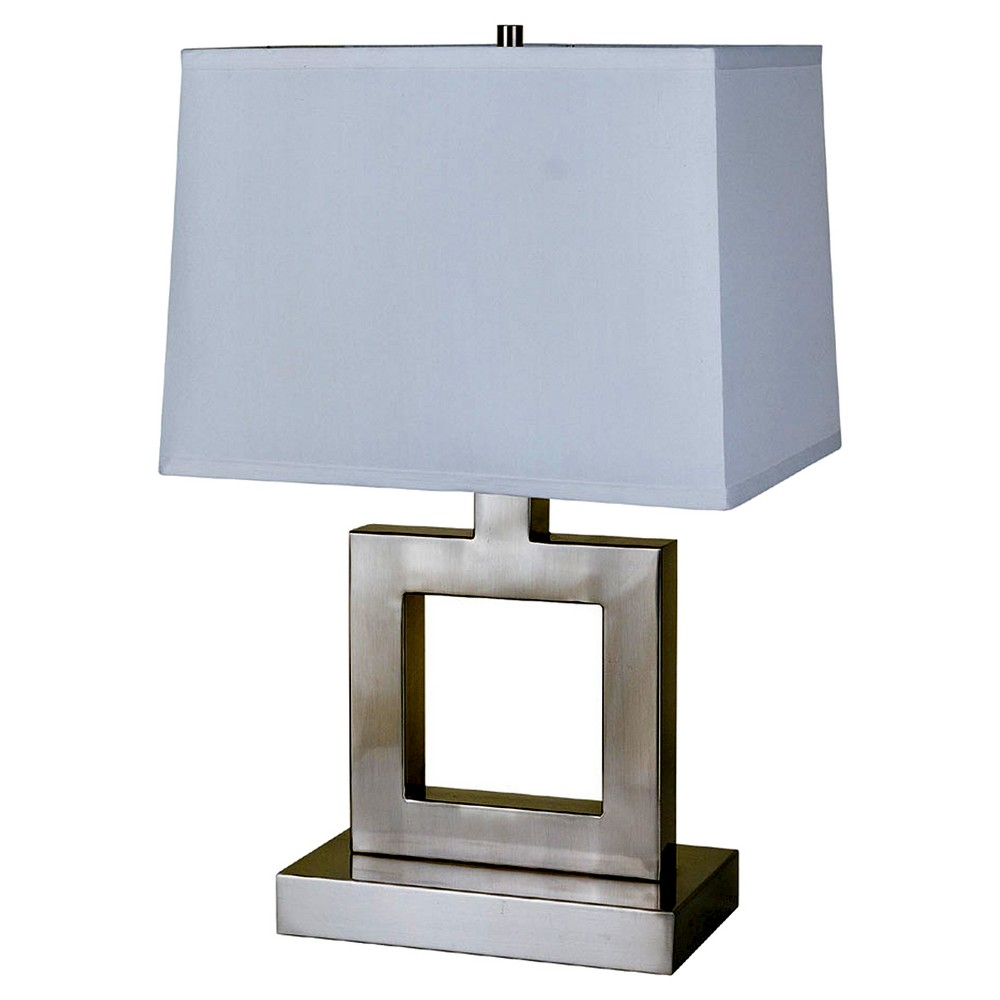 Ore International Table Lamp - Silver